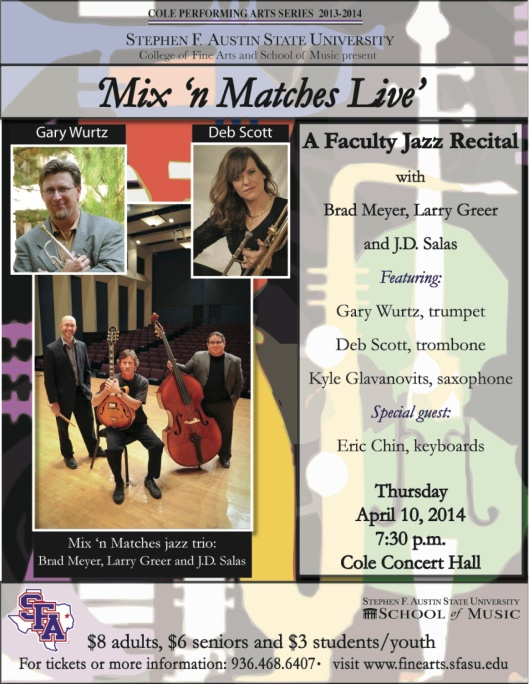 mixnmatches recital flier 2014